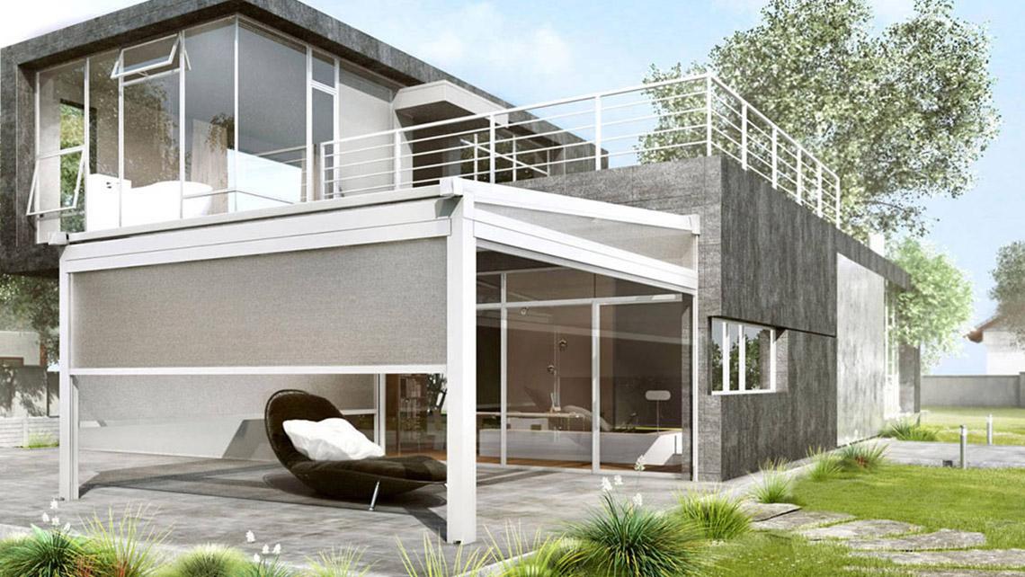 Sistema di chiusura per esterni - Proverbio Outdoor Design